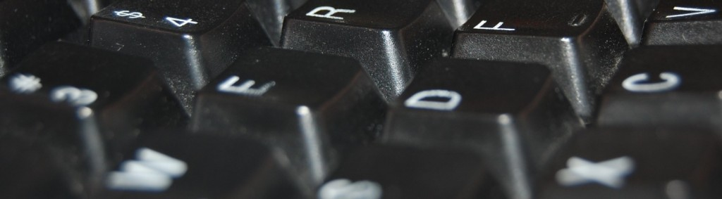 keyboard up close